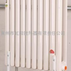QFGZ3 钢三柱暖气片 钢三柱散热器 钢制椭圆管散热器