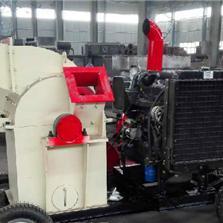 驻马店市柴油机移动式木材粉碎机设备价格厂家