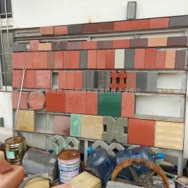 广州水泥植草砖机,免烧空心砖机,彩色路面砖机