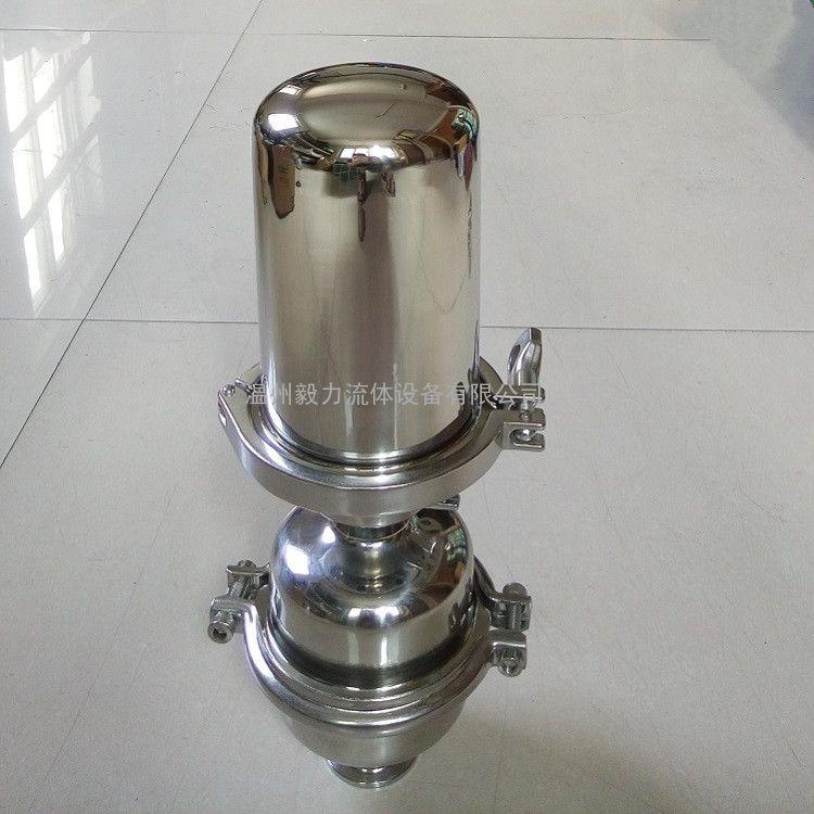 304不锈钢阻火阀 卫生级快装阻火呼吸器 配有双层阻火芯