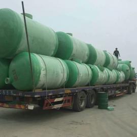 安徽宣城绩溪玻璃钢污水处理池玻璃钢化粪池专业生产厂