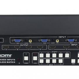 HDMI高清矩阵切换器/画面分割器/拼接器/合成器/分屏器