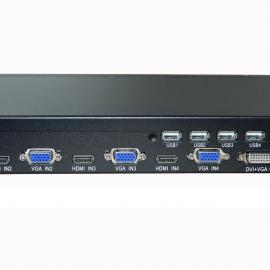 高清HDMI/VGA四画面KVM分割器,支持鼠标键盘