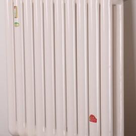 钢二柱散热器暖气片 钢制柱型暖气片散热器 GZ206