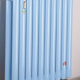 工程暖气片 钢制椭圆管散热器 钢二柱暖气片