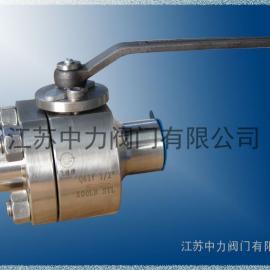 高温高压不锈钢硬密封球阀