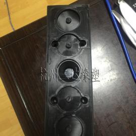 带孔硅胶垫 透明硅胶垫片 硅胶防滑垫