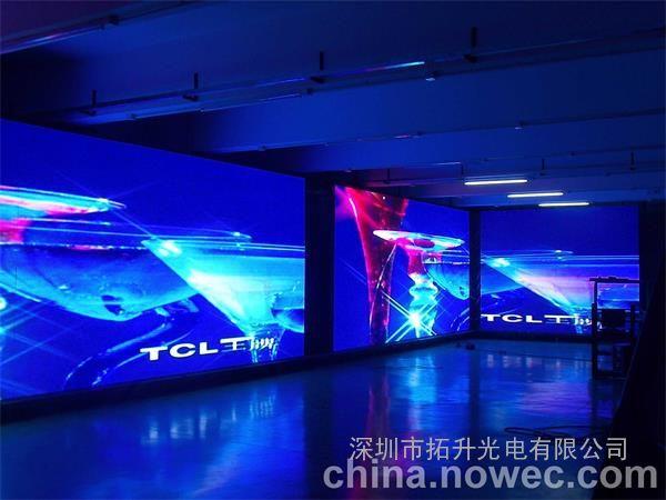 酒店大门口背景墙全彩led电子屏p4设计包安装价格