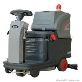 克力威小型迷你驾驶式洗地机XD60体育场候车大厅用洗地机