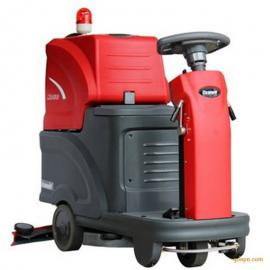 地下停车场用驾驶式洗地机克力威XD20迷你电动驾驶清洗机