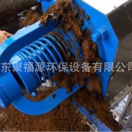 聚福源环保厂家直销猪鸡牛鸭羊粪便干湿分离器 螺旋固液分离机