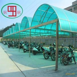 透明PC阳光耐力板 阳篷雨棚专用板材生产厂家