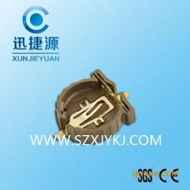 供应CR1220-2塑胶电池座 环保电池座子生产商