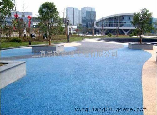 即环保又美观,造型多样|透水路面-生态环保透水混凝土!