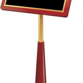 正品高档实木火箭炮指示牌酒店大堂指引广告牌展示架立式迎宾牌