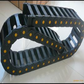 厂家直销 工程塑料拖链 带黄点拖链