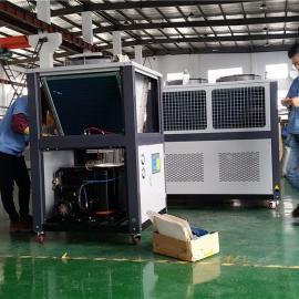 数控机床油冷机维修