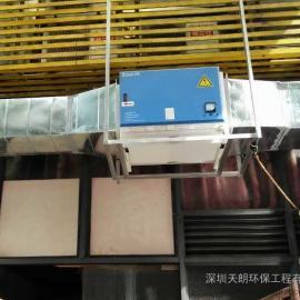 广西百色油烟净化设备,厂家直销,达到目测无烟排放