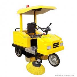 厂家直销电动扫地车惠阳扫地机清扫车-自动洒水清扫吸尘收集垃圾