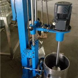手摇升降高剪切分散机 ,电动搅拌分散机,小型分散机