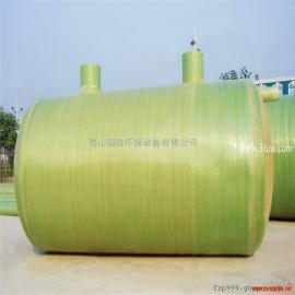 苏州厂家供应玻璃钢生物化粪池 ――昆山国胜环保设备有限公司