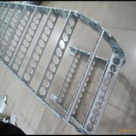 机床钢制拖链 桥式坦克链 龙资批发