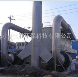 三胜环保新生产耐火材料厂废气治理