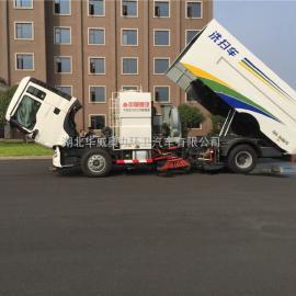 大型重汽T5G洗扫车-保养洗扫车