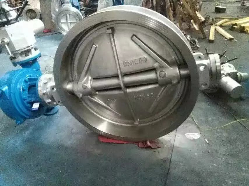 电动对夹式蝶阀D973H-16C 铸钢对夹式蝶阀