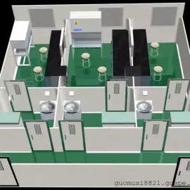 广州实验室净化工程,无菌实验室整体工程