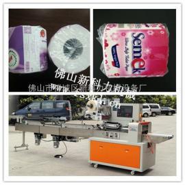 枕式卷纸包装机|自动卷纸包装生产线