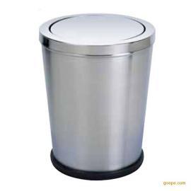 厂家批发知鑫意锥形摇盖房间桶 室内不锈钢垃圾桶 可来图订做