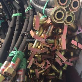 供应过气钢丝胶管 耐压耐磨排水高压钢丝编织胶管