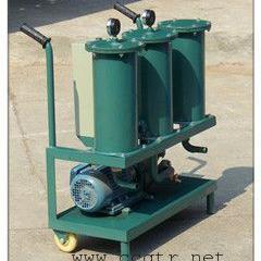 泵车液压油小型三级过滤精密加油滤油机 型号YL-80