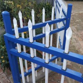 草坪护栏花园小区别墅道路锌钢铁艺塑钢pvc塑料绿化围栏栅栏护栏