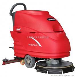工业厂房地面清洗用洗地机电动手推式洗地机移动式工业用洗地机
