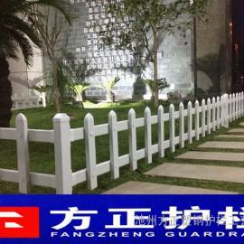 绿色PVC护栏直销 绿色草坪栅栏 绿色塑钢护栏直销