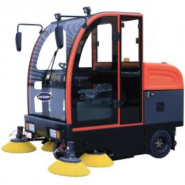 电动道路路面清扫车扫地车 学校校园地面电瓶扫路车