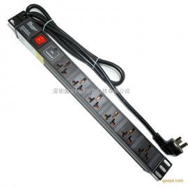8位PDU分配��卧�/插�板可定制/PDU防雷插座
