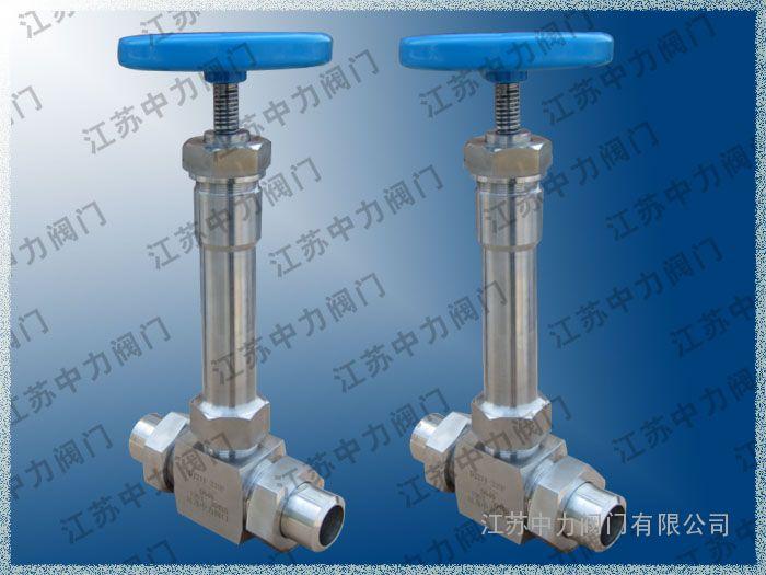 低温高压焊接式截止阀图片