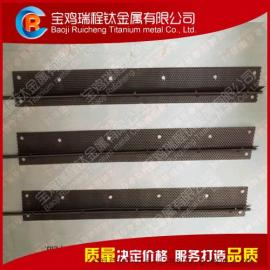 冷却循环水处理除垢用钌铱钛阳极 钛阳极网订制
