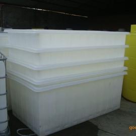 武汉1.1吨塑料方箱长方形周转箱厂家直销