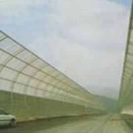 四川自贡高速公路高架桥声屏障