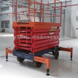 罗湖区建筑工地安装剪叉式升降机