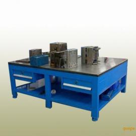 龙岗模具钢板工作台,横岗飞模重型平台,抽屉式模具平台厂家