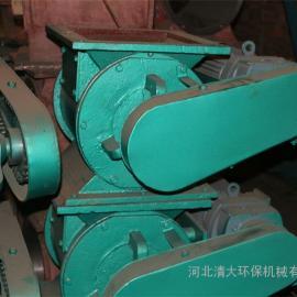 变频防曝型星型卸料器 电动控制 圆口法兰连接关风机