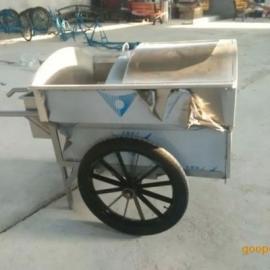 环畅供应贵州垃圾车 手推垃圾车 不锈钢垃圾车