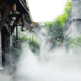 丽水景区人造雾-假山景观工程-冷雾景观