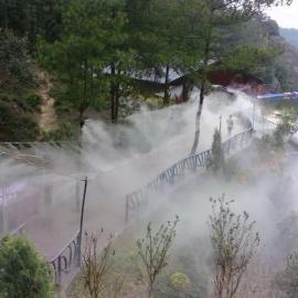 湖州景区人造雾-假山景观工程-冷雾景观工程