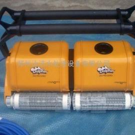 海豚标准泳池吸污机大功率泳池池底吸尘器游泳池海龟
